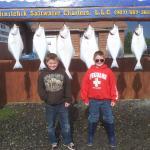 Alaska Halibut fishing in Cook Inlet!