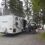 RV Campsites at Kenai Riverfront Resort can't be beat!