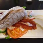 Dagens Sandwich med kylling