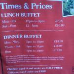 standard prices