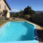 piscina disponible para los huéspedes.