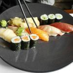 sushi menu for lunch