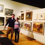 My oldest and youngest kids enjoying the museum!