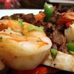Beef, Chicken & Shrimp Fajitas At La Siesta Mexican Restaurant