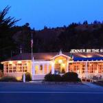 Jenner Inn at night