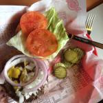 basic $ 6.00 burger