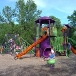Lakeview Park - one of several playgrounds