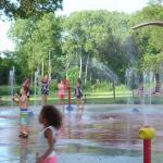Lakeview Park's splash park