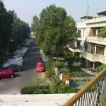 Ahuja Residency - from front balcony to street