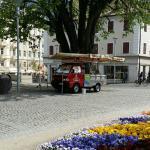 Wurstelstand Passer-Promenade