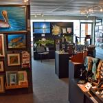 Island Gallery West shows wall art as well as jewelry, ceramics and stained glass