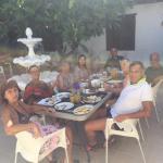 Desayunando una mañana con Italianos y argentinos