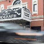 The Biograph Theatre is around the corner from Chicago Getaway Hostel!
