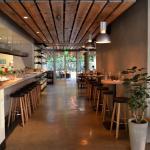 Obica Santa Monica Entrance, Mozzarella Bar, Patio