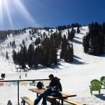 Honeycomb Canyon bowl! A little something for everyone intermediate to advanced skiers.