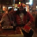 Fat Tuesday with Captain Morgan.