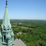 View from the tower. Hard climb but worth every step.