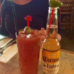 Spicy delicious Bloody Mary