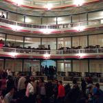 This is how the old world charm has been retained in the theatre. Surely worth a visit
