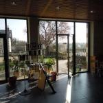 Domaine de Noire 15 March 2016 tasting room view to courtyard
