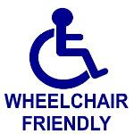 Wheel Chair Friendly