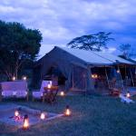 The common area at Ol Pejeta Bush Camp