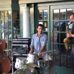 Sometimes a Jazz Band will pop up on any given Monday