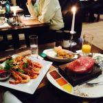Steak & Shrimp Salad