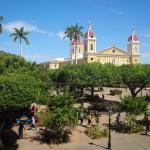 view from our room over parque centrale and the cathedrale