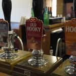 A choice of Hook Norton Ales