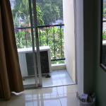 Blick aufen Balkon