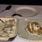 Oyster stew and rabbit were excellent!