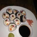 California Rolls Sushi and Futumaki sushi