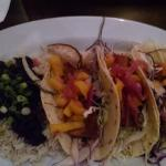 Fish Tacos, plenty there to eat