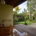 Terrace of Deluxe Garden View Room