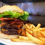 """The BIG """"A"""" Burger"""