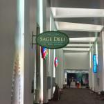 Sage Del sign by entrance