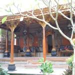 Terrace of deluxe bungalow