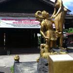Statue inside Taman Sriwedari