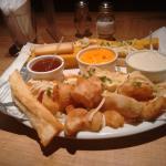 Porção no capricho, os molhinhos são uma delícia!!!