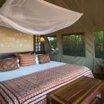 Tent Interior at Desert Rhino Camp