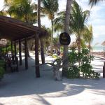 Amaite Hotel is right on the beach.