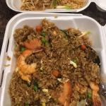 Shrimp fried rice take out