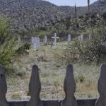 Cemetary on Fort Bowie grounds