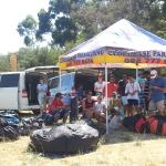 The Cloudbase Team at Sedgefield. on the day I decided to do a tandem.