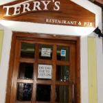 Terry's entrance