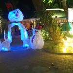 Christmas decoration at the beach in mars.... It is a bad omen!