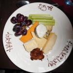 cheese board (our silver wedding celebration)