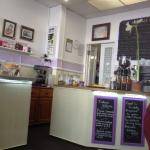 Elizabeth's clean tea shop.