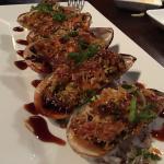 Sushi dinner and $5 martini night